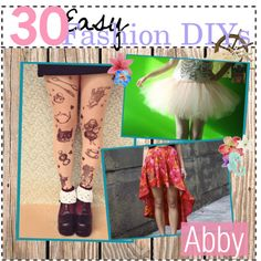 30 Easy Fashion DIY Projects