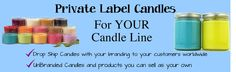 You can invent your own brand and your own line of Jewelry Imbedded Scented Candles at Wholesale Jewelry Candles.