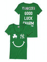 New York Yankees St. Patrick's Day Tee