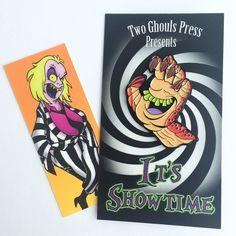 Shrimp hand - Beetlejuice cartoon enamel pin lapel pin pin flair two ghouls press