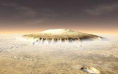 rainer-olzem.de | Themen | Olympus Mons: Der größe Vulkan unseres Sonnensystems