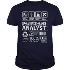Awesome Tee For Operations Research Analyst T-Shirts, Hoodies, Sweatshirts, Tee Shirts (22.99$ ==> Shopping Now!)