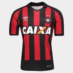 Honre a tradição do Furacão e estampe com orgulho a nova Camisa Umbro Atlético Paranaense I 2016 s/nº Preto e Vermelho. Veste o torcedor atleticano de garra e alegria para torcer.    Netshoes