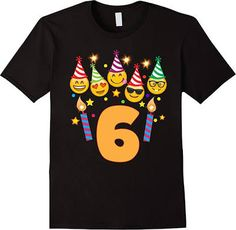 Could be fun to get Jack and Sawyer a special shirt to wear - emoji birthday shirt boy