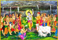 Govardhan Puja 2015 Images Pictures Photos, Happy Govardhan pooja 2015 SMS, Wishes, Quotes, Govardhan puja quotes scraps hindi english wishes photos Images Krishna Lila, Radha Krishna Photo, Krishna Photos, Krishna Art, Shree Krishna, Radhe Krishna, Krishna Painting, Lord Krishna Wallpapers, Radha Krishna Wallpaper