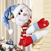 Snowman Christmas Stocking Holder Tree from Collections Etc.