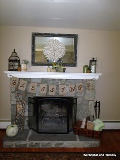 Bird cage idea for mantle