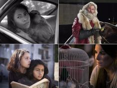 Clockwise from top right: 'Roma', 'The Christmas Chronicles', 'Bird Box' and 'My Brilliant Friend' Kurt Russell, Stream Online, Arts And Entertainment, Streaming Movies, Netflix, Celebrity, Entertaining, Bird, Tv