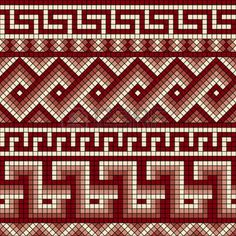 mäander: Vektor nahtlose Mosaik mit klassischen griechischen Mäander-Ornament Illustration