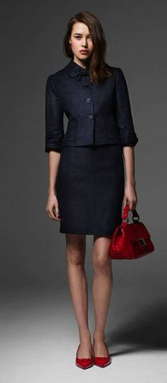 Chic Professional Woman Work Outfit. office