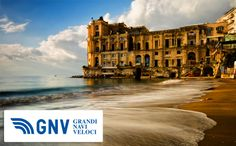 #PalazzoDonnAnna overlooks the #sea in #Naples downtown - #Palazzo #Donn'Anna #DonnAnna  Discover #GNV routes from/to #Napoli here: http://www.gnv.it/en/ferries-destinations/naples.html