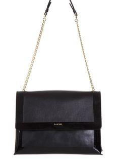 a18ebaf65989 LANVIN Lanvin Leather   Patent Shoulder Bag.  lanvin  bags  shoulder bags   hand bags  patent