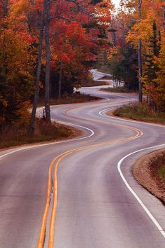 beautiful winding road...