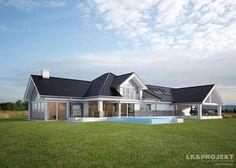 Projekty domów LK&Projekt LK&1160 wizualizacja 5