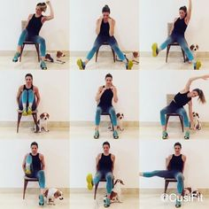 Rutina para el deseado SIX PACK y AFINAR LA CINTURA! Los abdominales y la cintura de hormiga que todos queremos!! De izquierda a derecha arriba: 1️⃣ Oblicuos, hazlo con fuerza, concéntrate en el movimiento! 20 de cada lado.  2️⃣ Con tus piernas estiradas, trata de bajar hasta tocar el piso, si no lo logras no importa, poco a poco tendrás más flexibilidad. Intercalar adentro y afuera. 1 rep son los dos movimientos. 12 repeticiones. 3️⃣ Mantén las piernas estiradas. Subes tu brazo y elevando…