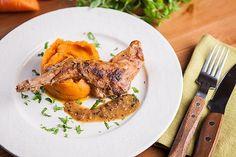 Králík: Dopřejte si ho ve třech voňavých variacích! - Proženy Pork, Meat, Chicken, Kale Stir Fry, Pork Chops, Cubs