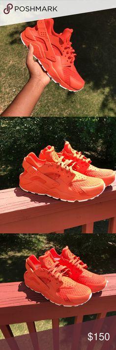 Custom Made Orange Huaraches