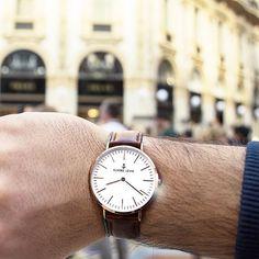 ⚓️ Elmore Lewis Oxford Watch ✖️ Details ✖️ Italy 🇮🇹 (📸 by @erzagana) ⌚️⚓️😎 #elmorelewis #itsalifestyle