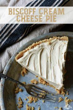 Biscoff Cream Cheese Pie