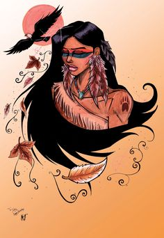 Native Colours... by *CrimsonArtz on deviantART so lovely.