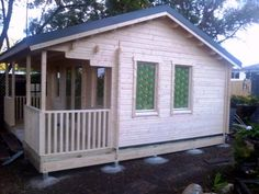 Cabin Life - Affordable Housing The Bangalow Bungalow - Sheds 2016