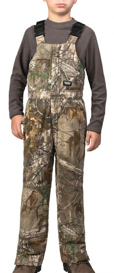 New Realtree Youth Hunting Apparel in 2016 | Wall Realtree Xtra Insulated Bib