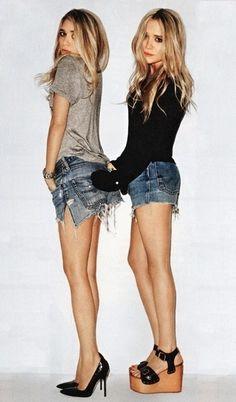 perfekta jeansshorts