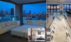 PRIVACY AT A PRICE: Drive right into your apartment: Inside the sky garage penthouse