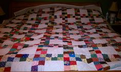 It was on my bucket list to do a hand sewn quilt and after 33 years its done!
