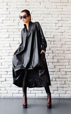 Black Maxi Dress Oversize Black Kaftan Long Sleeve by Metamorphoza Kleidung,  Jacken, 4fdec652bb