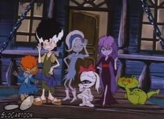 Scooby doo at ghoul school