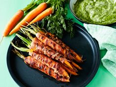 Grill Pan, Tapas, Carrots, Food Photography, Goodies, Snacks, Baking, Vegetables, Kitchen