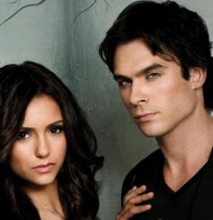 Find images and videos about sexy, Hot and the vampire diaries on We Heart It - the app to get lost in what you love. Cute Couples Goals, Couple Goals, Ian And Nina, The Vampire Diaries 3, Vampier Diaries, Ian Somerhalder, Delena, Nina Dobrev, Damon