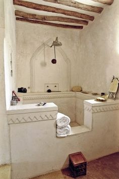 Perfect Shower (and a place to put your stuff)