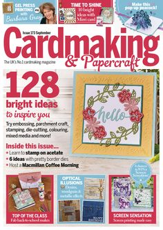 Get a FREE issue of Cardmaking. Download the app from iTunes