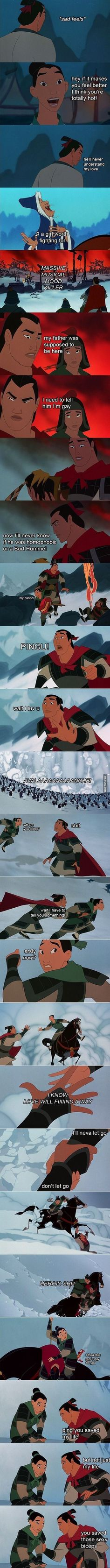 Mulan: Shang's Journey of Self Discovery Part II
