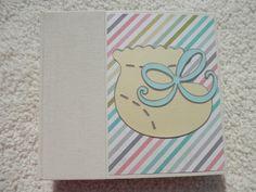 6x6 Baby Scrapbook Photo Album by SimplyMemories on Etsy