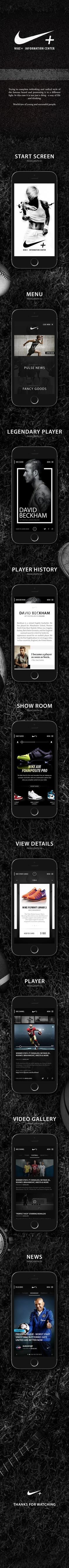 Nike. New Look & Concept on Behance
