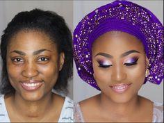 Nigerian Bride | Wedding Introduction Makeover | Makeup Transformation 4