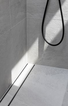 Bathrooms with large format tiles are beautiful and practical, with large seamless surfaces and less grout lines to clean. But planning is key to ensure good fall to your shower, without the need for numerous tile cuts. Click to read our blog on how to plan for this for your new bathroom, with Lauxes Grates Linear Floor Wastes.  Follow us on Instagram and Pinterest for all the latest home, reno and design tips, trends and products. Large Tile Bathroom, Bathroom Tile Designs, Bathroom Design Luxury, Large Bathrooms, Bathroom Laundry, Upstairs Bathrooms, Master Bathrooms, Downstairs Bathroom, Bathroom Renos
