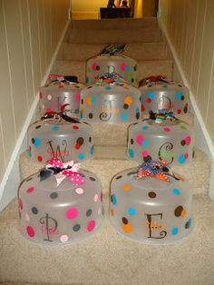 Cute gift idea cake carriers personalized