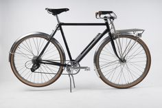 Hufnagel Cycles - contemporary builder of vintage inspired porteurs