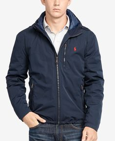 Made from Japanese taffeta and 750-fill-power down, this Polo Ralph Lauren jacket delivers warmth and sleek style in equal measure. | Shell: polyester; lining: nylon; fill: down/other feathers | Machi