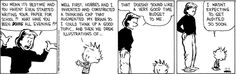 Calvin is always right and everybody else is wrong. Part 14
