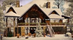 Holy night, silent night house by Julia Engel - Sims 3 Downloads CC Caboodle