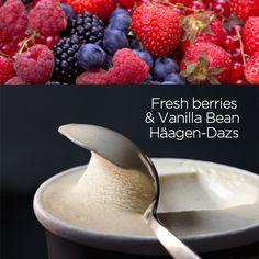Add a burst of colour to your next bowl. #IceCream #Recipe #Dessert