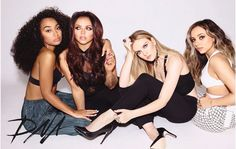Little Mix; Leigh-Anne Pinnock, Jesy Nelson, Perrie Edwards, Jade Thirlwall
