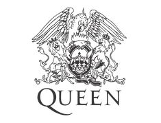 Queen's resplendent, extravagant band marque could only have been designed by Freddie Mercury himself. Tatouage Freddie Mercury, Freddie Mercury Tattoo, Queen Freddy Mercury, Queen Logo, Queen Banda, Meme Rage Comics, Freddie Mercury Tribute Concert, Music Silhouette, Marilyn Monroe Drawing