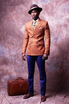 "NIGERIAN MENSWEAR DESIGNER McMEKA PRESENTS NEW COLLECTION ""WORK HARD,PLAY HARD"" 