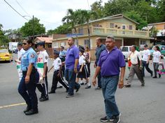 March against Violence in Bayamón, Puerto Rico